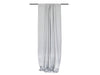 Dove grey linen curtains with rod pocket top by Lovely Home Idea