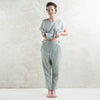 Dove grey linen pants by Lovely Home Idea