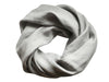 Dove grey linen scarf