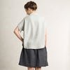 Loose fit linen shirt for women by LHI