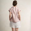Dusty rose women's blouse by LHI
