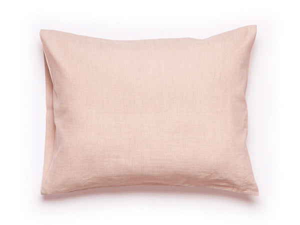 Dusty rose linen pillowcase by Lovely Home Idea