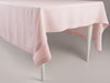 Dusty rose linen tablecloth by lovely home idea