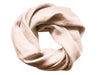 Dusty rose linen infinity scarf