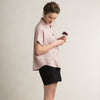 Dusty rose women's shirts