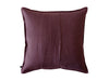 Linen decorative pillow cover with envelope closure