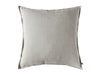 Flax grey linen decorative pillow cover by Lovely Home Idea