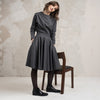 Wool and linen blend wear for women