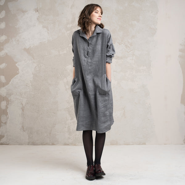 Casual wool dress