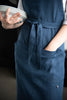 Linen apron with pockets by Lovely Home Idea