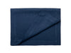 Indigo blue linen table runner