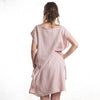 Dusty rose linen tunic by LHI