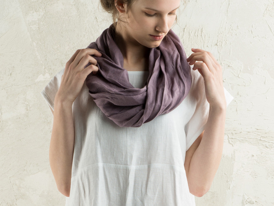 Soft linen scarf by LHI