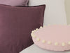 Soft linen pillows