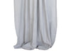Dove grey linen curtains