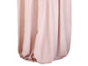 Dusty rose linen curtains