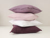 Linen decorative pillows