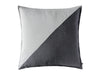 Diagonal decorative pillow cover