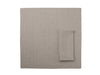 Flax grey linen table napkins