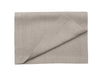 Flax grey linen table runner