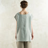 Loose fit linen top