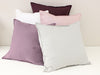 Linen accent pillows