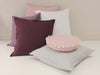 Linen throw pillows by Lovely Home Idea