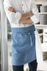 Lovely Home Idea linen waist apron for men