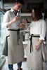 Lovely Home Idea linen aprons for couples