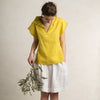 Linen womens blouse
