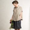 Loose fit linen shirt by LHI
