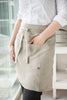 Natural apron for women