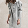 Casual linen dress by LHI