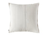 Cotton decorative pillow cover back side