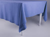 Serenity blue linen tablecloth by Lovely Home Idea