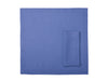 Serenity blue linen table napkins
