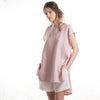 Linen summer clothes in dusty rose by LHI