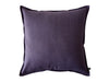 Violet linen throw pillow by Lovely Home Idea