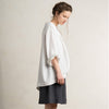 White linen womens jacket by LHI