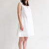 White linen night dress from Lovely Home Idea home wear collection