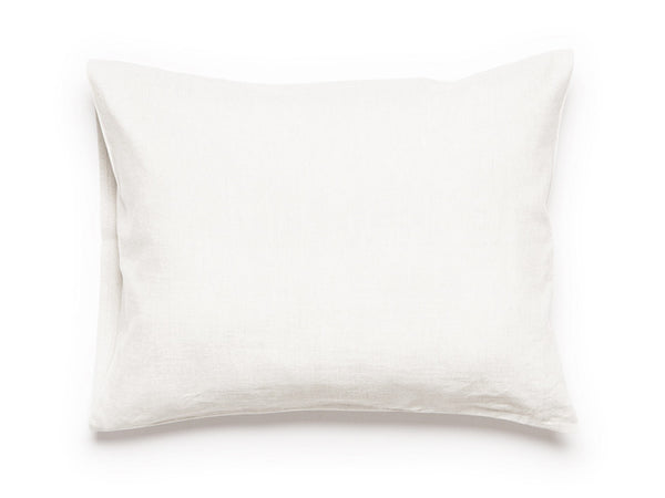 White linen pillowcase by Lovely Home Idea