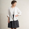 White linen blazer for woman