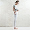 LHI white linen pants