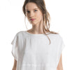 LHI white linen clothing