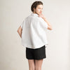 Loose fit shirt made in white