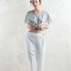 White linen womens pants by LHI