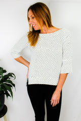 Dotti 3/4 Sleeve Top