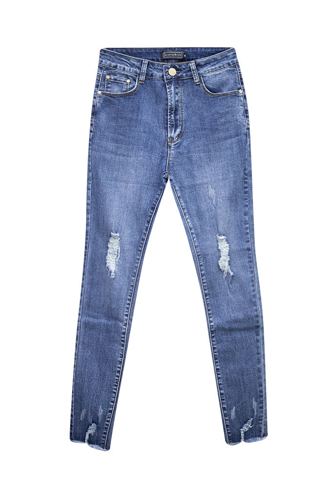 CGJ1283 Dallas Distressed Skinny Jean