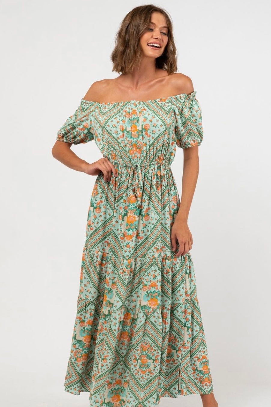 Bird of Paradise Maxi Dress - PHE81971