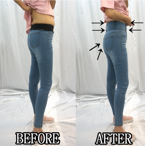 [SOLDOUT] [5th RESTOCK] [ABSOLUTE COMFORT] SKINNY TUMMY BANDING JEANS